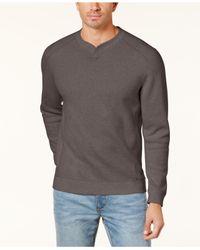 Tommy Bahama - Multicolor Men's Flip Side Classic Pima Cotton Sweater for Men - Lyst