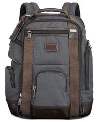 Tumi - Gray Men's Shaw Deluxe Backpack for Men - Lyst