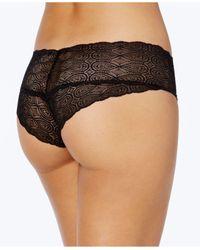Cosabella - Black Sweet Treats Infinity Sheer Lace Hot Pants Treat0727 - Lyst