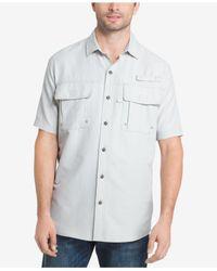 G.H. Bass & Co. - Gray Explorer Fishing Shirt for Men - Lyst