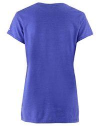 Adidas Blue Women's International Soccer Club Team Crest T-shirt