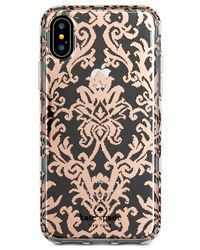 Kate Spade - Multicolor Rose Gold-tone Tapestry Iphone X Case - Lyst