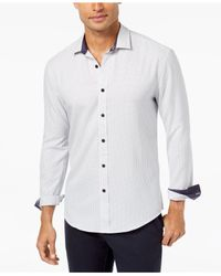 Vince Camuto - White Men's Casual Button Down Shirt for Men - Lyst