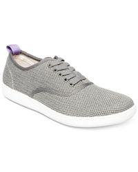 Steve Madden - Gray Fauster Canvas Sneakers for Men - Lyst