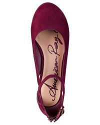 American Rag - Purple Miley Chop Out Wedges, Only At Macy's - Lyst