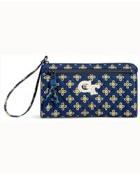 Vera Bradley Blue Georgia Tech Yellow Jackets Wristlet