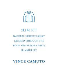 Vince Camuto - Multicolor Men's Slim-fit Comfort Stretch Rose Gingham Dress Shirt for Men - Lyst