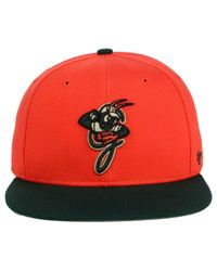 47 Brand Multicolor Greensboro Grasshoppers Shot Snapback Cap for men