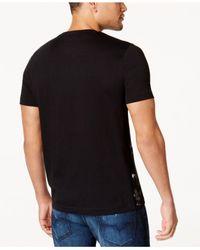 Sean John - Black Men's Graphic-print T-shirt for Men - Lyst