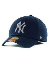 47 Brand Blue New York Yankees Franchise Cap for men