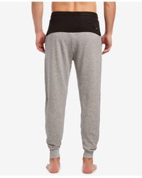 2xist - Gray Colorblocked Terry Joggers for Men - Lyst