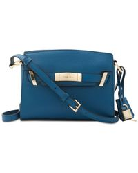 Calvin Klein - Blue Brooke Belted Small Bag - Lyst