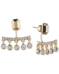 Ivanka Trump - Metallic Crystal Chandelier Earring Jackets - Lyst