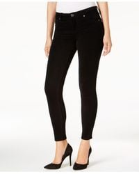 Kut From The Kloth - Black Skinny Corduroy Ankle Pants - Lyst