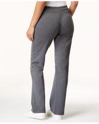 Style & Co. - Gray Drawstring Sweatpants - Lyst