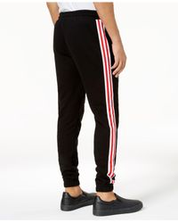 Reason - Black Men's Embroidered Jogger Pants for Men - Lyst