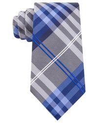 Geoffrey Beene - Blue Petros Plaid Ii Tie for Men - Lyst