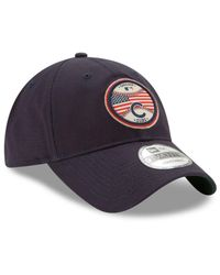 KTZ - Blue Americana Patch 9twenty Strapback Cap for Men - Lyst