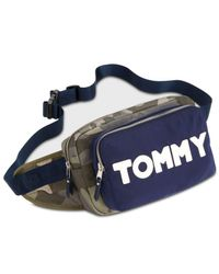 Tommy Hilfiger - Green Camo Small Fanny Pack - Lyst