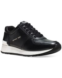 Michael Kors - Black Allison Trainer Sneakers - Lyst