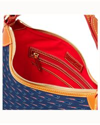 Dooney & Bourke - Blue New England Patriots Hobo Bag - Lyst
