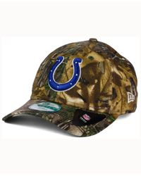 best website 09c29 7c4eb Men s Indianapolis Colts The League Realtree 9forty Cap