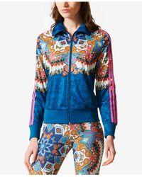 Adidas Blue Originals Borbomix Track Jacket