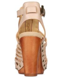 Jambu - Natural Women's Valentina Handcrafted Sandals - Lyst
