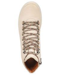 Frye - White Women's Lena Hiker Sneakers - Lyst