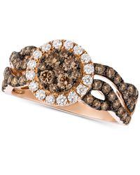 Le Vian - Metallic Diamond Ring (1-1/4 Ct. T.w.) In 14k Rose Gold - Lyst