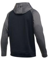 Under Armour - Black Men's Storm Colorblocked Fleece Hoodie for Men - Lyst