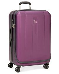 "Delsey - Purple Helium Shadow 3.0 25"" Hardside Spinner Suitcase for Men - Lyst"