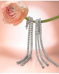 Macy's - Metallic Diamond Bracelet In 14k White Gold (1 Ct. T.w.) - Lyst