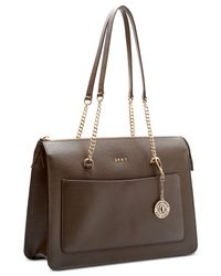 DKNY - Brown Bryant Top-zip Medium Tote, Created For Macy's - Lyst