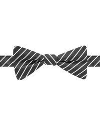 Countess Mara - Black Fine Line Stripe Bow Tie for Men - Lyst