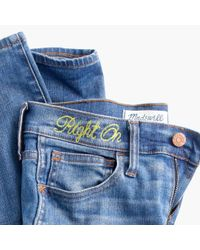 Madewell | Blue The Perfect Summer Jean In Malden Wash | Lyst