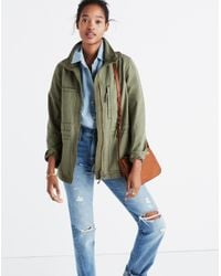Madewell - Blue Fleet Jacket - Lyst