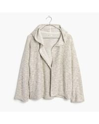 Madewell | White Textural Hooded Jacket | Lyst