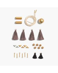 Madewell - Metallic Do-it-yourself Necklace Kit - Lyst
