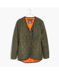 Madewell - Green Penfield® Oakham Quilted Liner Jacket - Lyst