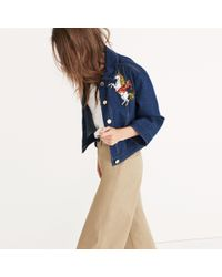 Madewell - Blue Karen Walker® Rodeo Jean Jacket - Lyst