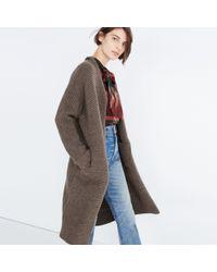 Madewell - Multicolor Fulton Sweater-coat - Lyst