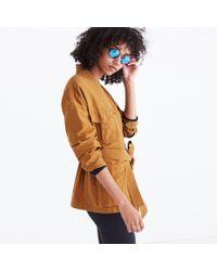 Madewell - Multicolor Kimono Military Jacket - Lyst