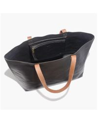 Madewell - Black The Transport Tote - Lyst