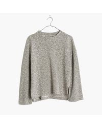 Madewell | Multicolor Textured Funnelneck Top | Lyst