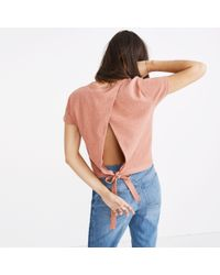 Madewell - Multicolor Verse Tie-back Top - Lyst