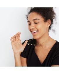 Madewell - Metallic Desert Charm Necklace - Lyst