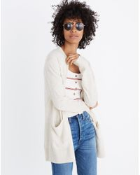 Madewell - Natural Summer Ryder Cardigan Sweater - Lyst