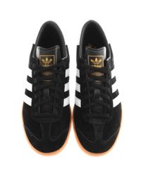 Adidas - Originals Hamburg Trainers Black for Men - Lyst