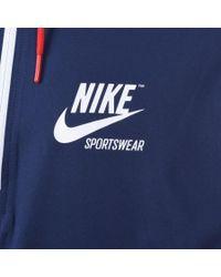 Nike Archive Jacket Blue for men
